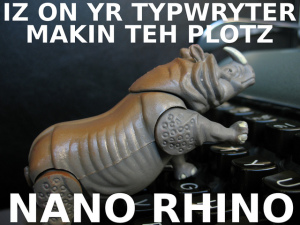 Nano Rhino by mpclemens at flickr.com